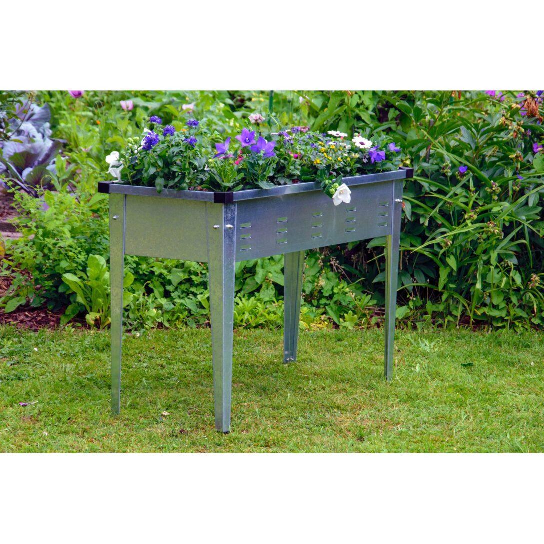 Large Size of Hochbeet Edelstahl Tischbeet Silber Kaufen Bei Obi Garten Edelstahlküche Gebraucht Outdoor Küche Wohnzimmer Hochbeet Edelstahl