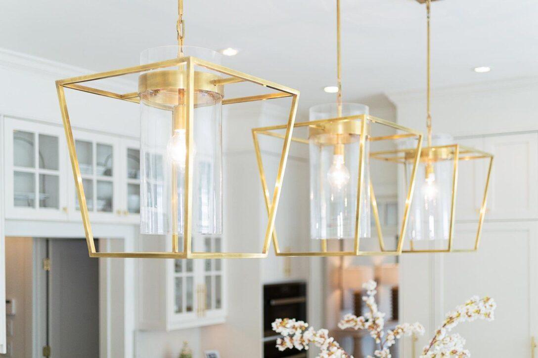 Large Size of Lampe über Kochinsel Brushed Gold Pendant Lights Above Kitchen Island Pendelleuchte überwurf Sofa L Küche Mit Wohnzimmer Tischlampe Led Lampen Schlafzimmer Wohnzimmer Lampe über Kochinsel