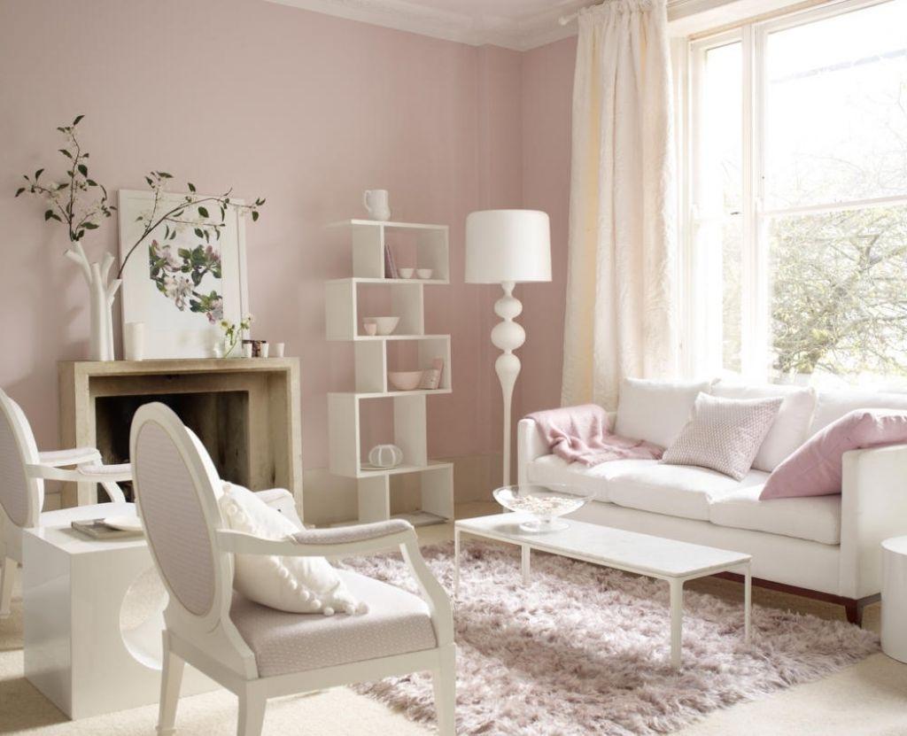 Full Size of Wandfarbe Rosa Schlafzimmer Moebel In Weiss Und Zartrosa Küche Wohnzimmer Wandfarbe Rosa