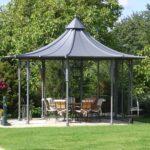 Pavillon Eisen Garten Holz Rund Gartenpavillon Aus Kaufen Mit Wohnzimmer Pavillon Eisen