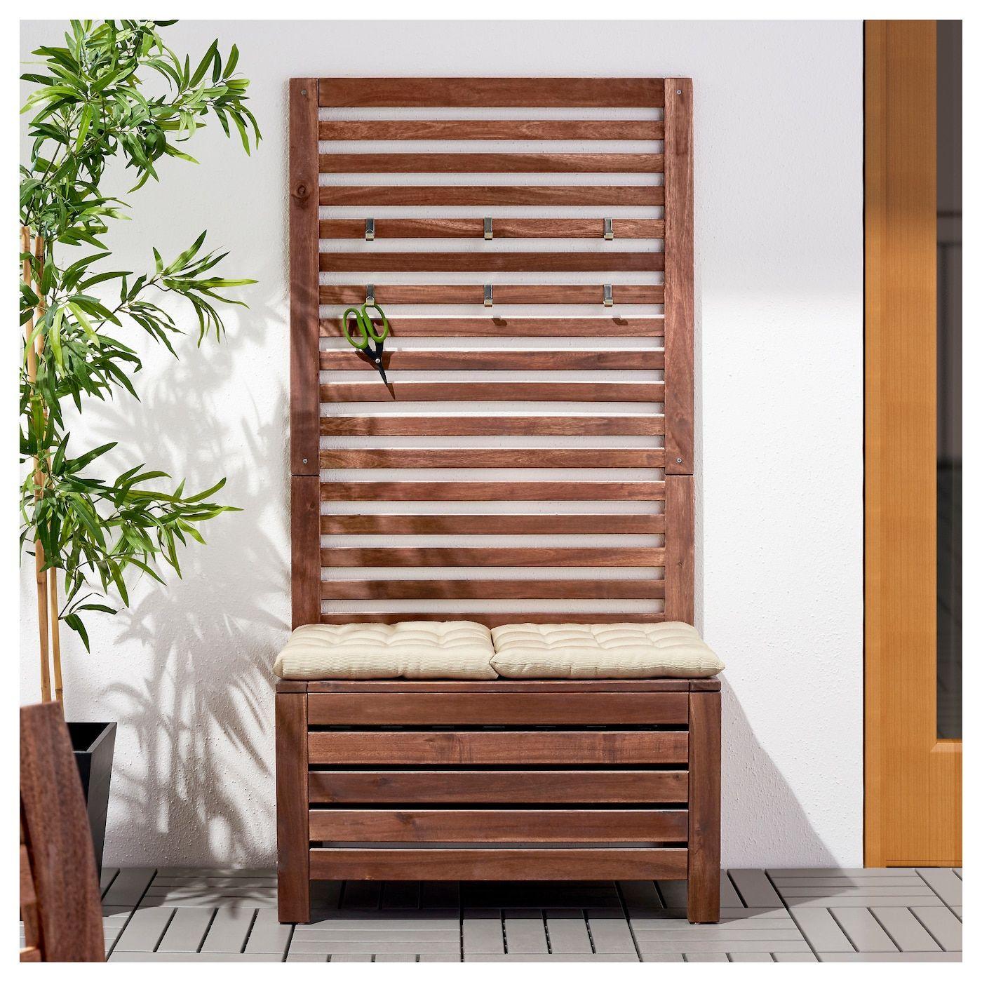 Full Size of Paravent Balkon Ikea Pplar Bank Wandpaneel Auen Braun Las Küche Kaufen Garten Kosten Modulküche Miniküche Betten 160x200 Bei Sofa Mit Schlaffunktion Wohnzimmer Paravent Balkon Ikea