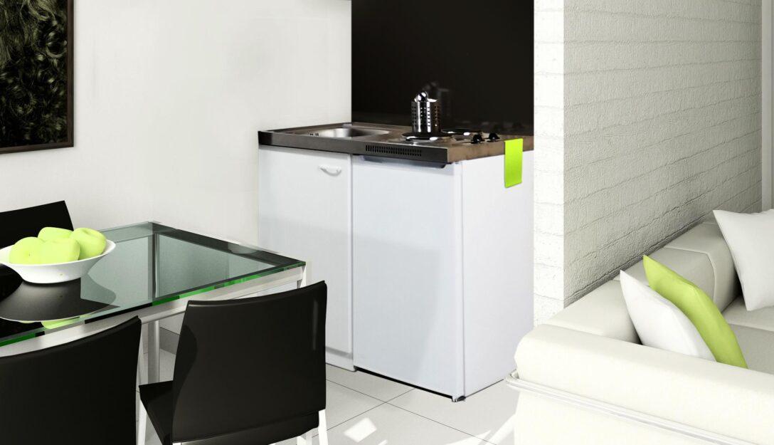 Large Size of Miniküchen Respekta Pantry 100sv Minikche Mit Khlschrank Wohnzimmer Miniküchen