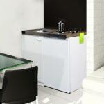 Miniküchen Wohnzimmer Miniküchen Respekta Pantry 100sv Minikche Mit Khlschrank