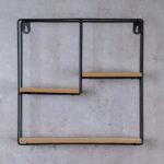 Regalwürfel Metall Wohnzimmer Regalwürfel Metall Wandregal Regal 32x32cm Schwarz Holz Mdf Natur Modern Weiß Bett Regale