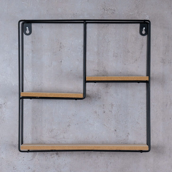 Medium Size of Regalwürfel Metall Wandregal Regal 32x32cm Schwarz Holz Mdf Natur Modern Weiß Bett Regale Wohnzimmer Regalwürfel Metall