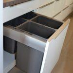 Müllsystem Vorher Nachher Stauraumwunder In Schwabach Diese Kche Hat Es Küche Wohnzimmer Müllsystem