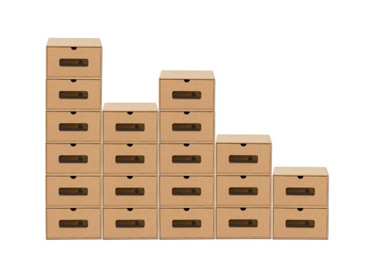 Aufbewahrungsbopappe 20karton Mit Schublade Real Stecksystem Regal Schubladeneinsatz Küche Wohnzimmer Schubladeneinsatz Stecksystem
