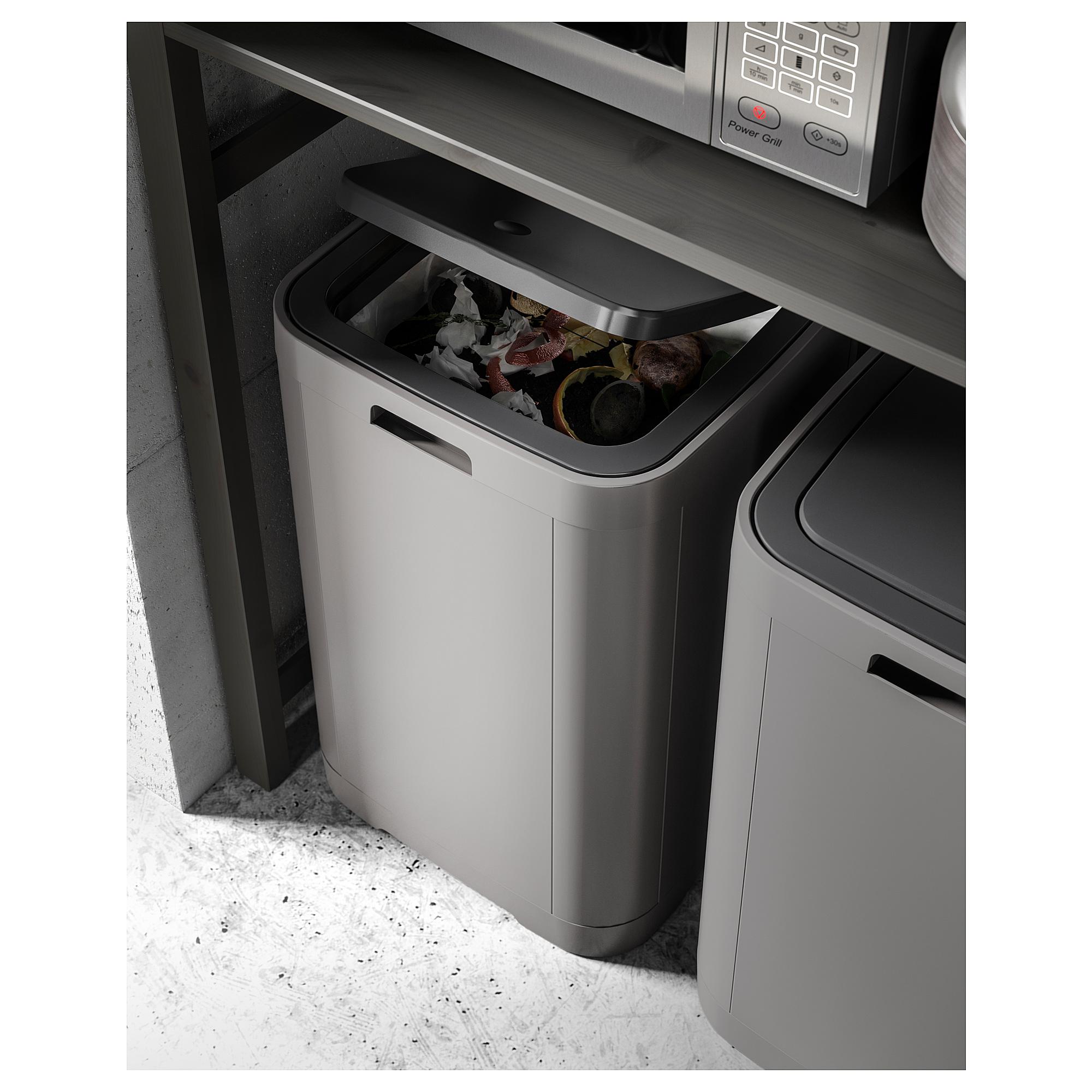 Full Size of Abfallbehälter Ikea Gigantisk Touch Top Trash Can Dark Gray 16 Gallon 60 L Mit Küche Kaufen Kosten Betten 160x200 Sofa Schlaffunktion Modulküche Bei Wohnzimmer Abfallbehälter Ikea