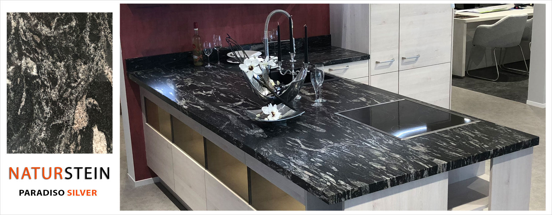 Full Size of Granit Arbeitsplatte Handelsvertretung Fr Templer Arbeitsplatten Granitplatten Küche Sideboard Mit Wohnzimmer Granit Arbeitsplatte