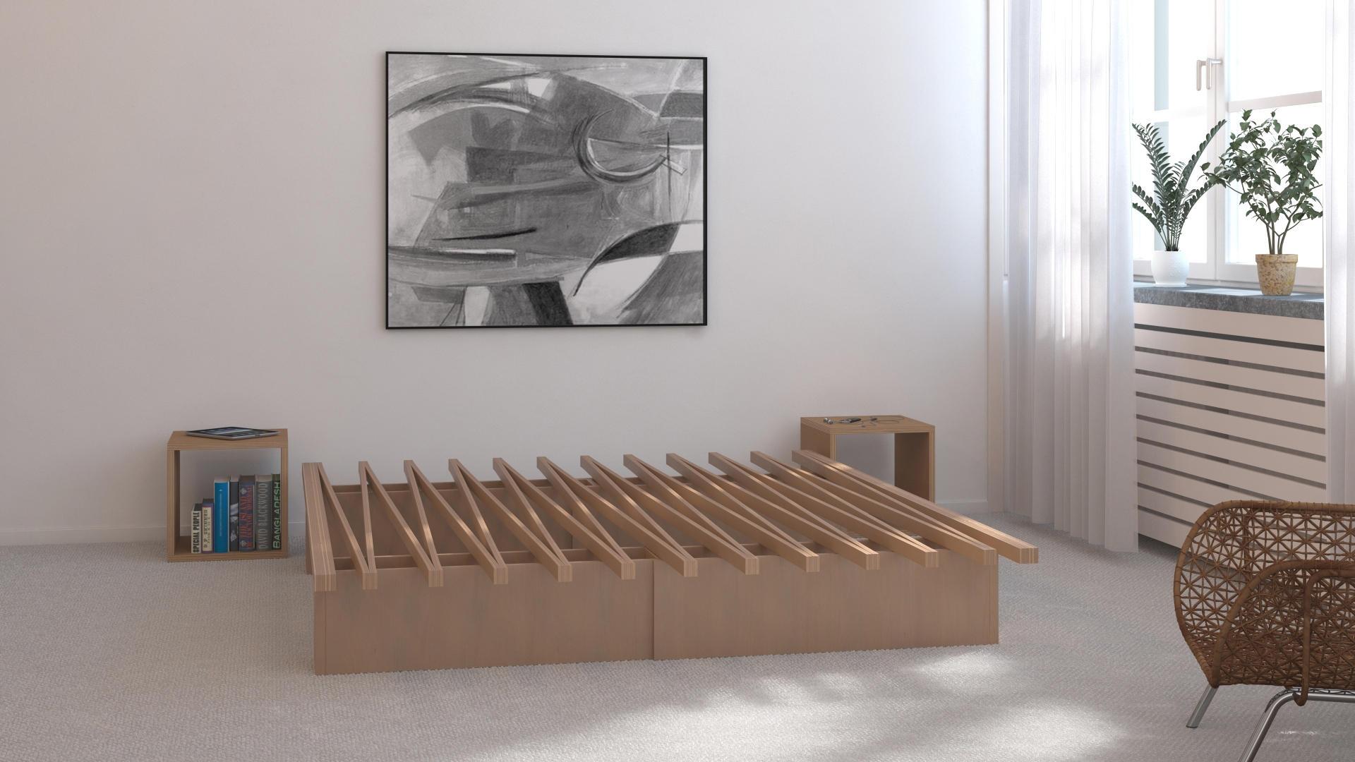 Full Size of Tojo Bett Nachbau V Lattenroste Bettgestelle Von Mbel Architonic Eiche Günstige Betten Kopfteil Einzelbett Ausstellungsstück Xxl Massiv 160x200 Für Wohnzimmer Tojo Bett Nachbau