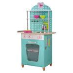 Küche Mint Pink Papaya Holz Spielkche Spülbecken Miniküche Sitzbank Einbauküche Mit E Geräten Elektrogeräten Günstig Wasserhahn Niederdruck Armatur Wohnzimmer Küche Mint