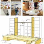 Podestbett Ikea Hack Anleitung Podest Bett Diy Bauen Selber Aus Regalen Betten 160x200 Modulküche Bei Miniküche Küche Kosten Sofa Mit Schlaffunktion Kaufen Wohnzimmer Podestbett Ikea
