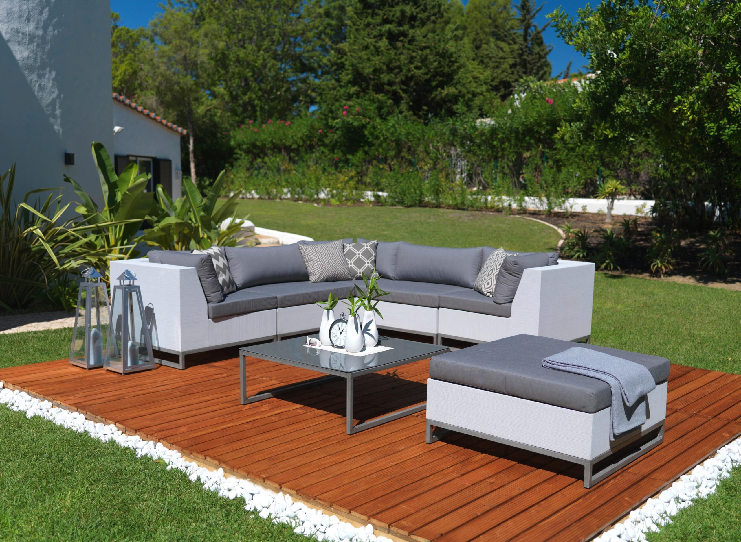 Full Size of Couch Terrasse Moderne Und Gemtliche Gartenlounge Garten Lounge Wohnzimmer Couch Terrasse