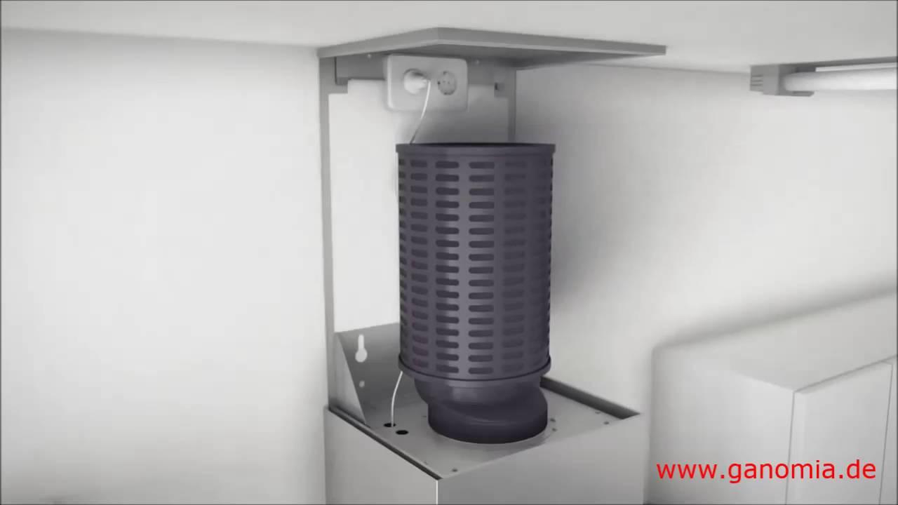 Full Size of Küchenabluft Plasma Dunstabzugshaube Ganomia Rohrfrei Geruchsfreie Wohnzimmer Küchenabluft