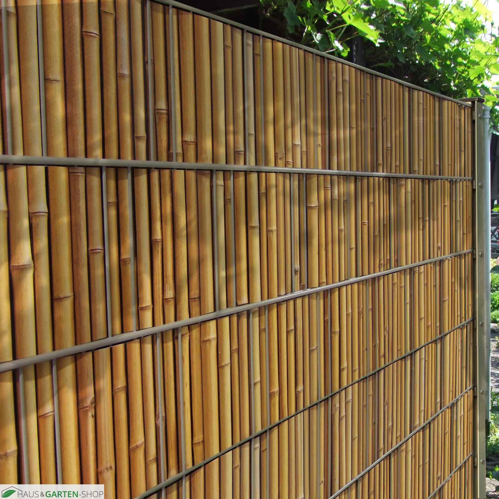 Full Size of Print Sichtschutzstreifen Aus M Tec Profi Line Qualitt Holzhaus Garten Versicherung Aufbewahrungsbox Gartenüberdachung Pergola Eckbank Gewächshaus Und Wohnzimmer Bambus Paravent Garten