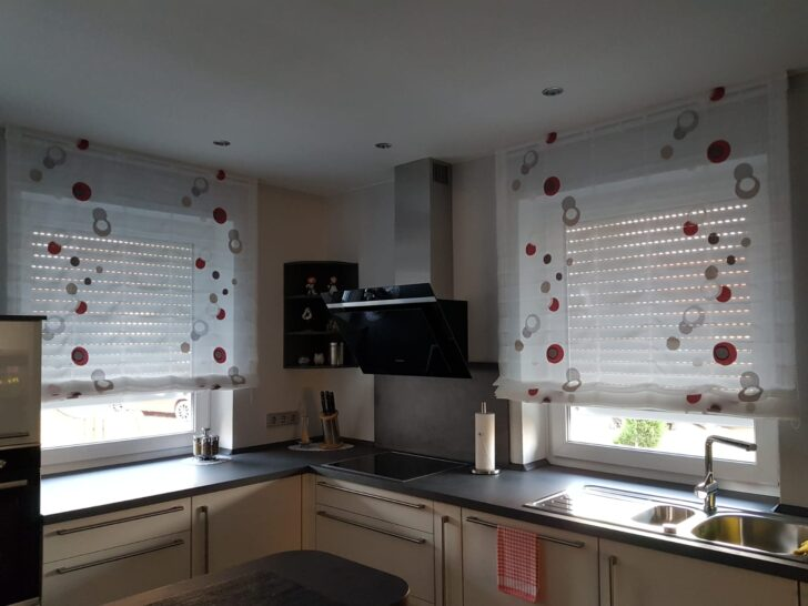 Medium Size of Küchen Raffrollo Küche Regal Wohnzimmer Küchen Raffrollo