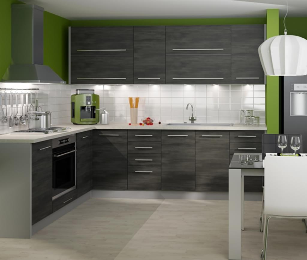 Full Size of Real Küchen Kchenblock Kchenzeile Komplett Kche L Form Regal Wohnzimmer Real Küchen