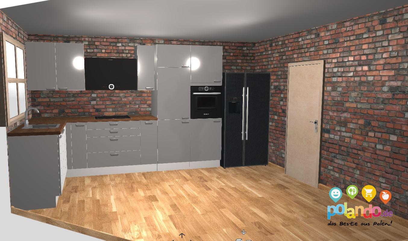 Full Size of Modulküchen Polnische Modulkchen Nach Ma Kompakt Individuell Konfigurierbar Wohnzimmer Modulküchen