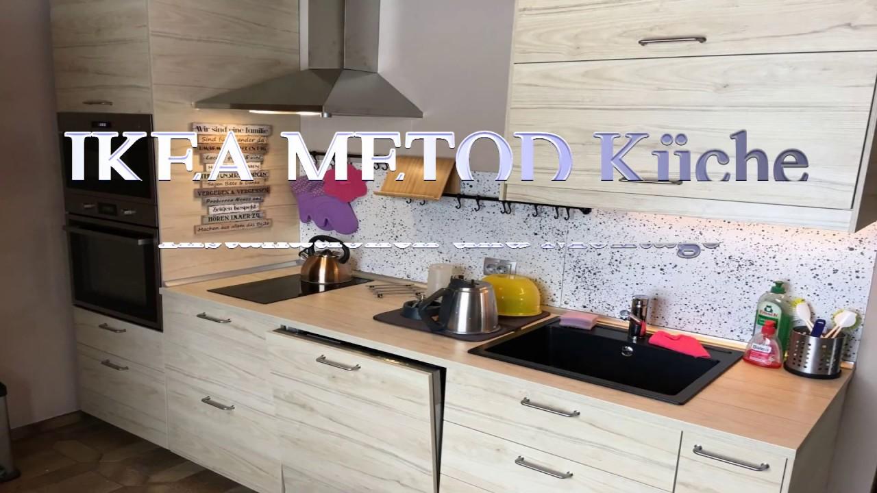 Full Size of Ikea Küchenzeile Metod Kche Youtube Küche Kaufen Sofa Mit Schlaffunktion Betten Bei Kosten Modulküche Miniküche 160x200 Wohnzimmer Ikea Küchenzeile