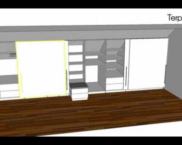 Dachschräge Schrank Ikea Wohnzimmer Kleiderschrank In Einer Dachschrge Terporten Tischler Schreiner Hochschrank Küche Bad Hängeschrank Spiegelschrank Mit Beleuchtung Bett Im Schrank Glastüren
