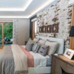 Akzentwand Schlafzimmer Tapeten Ideen Laminat An Wand Kleben Praktische Tipps Zur Stilvollen Günstige Komplett Komplette Deckenlampe Komplettangebote Wohnzimmer Akzentwand Schlafzimmer Tapeten Ideen
