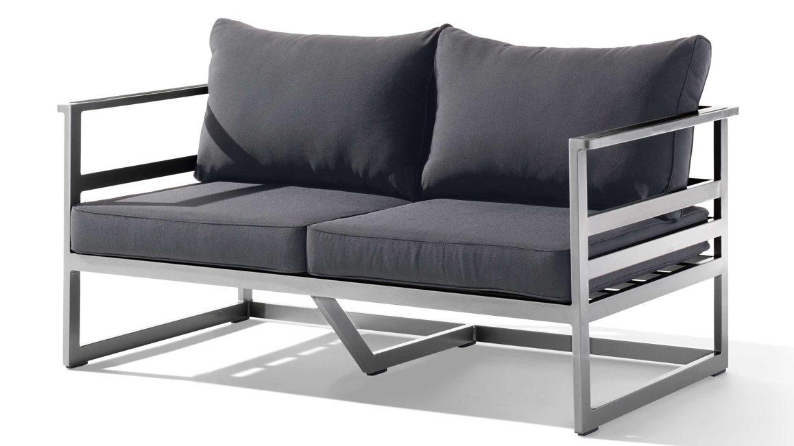 Full Size of Loungemöbel Aluminium Sieger Exclusiv 2 Sitzer Sofa Melbourne 402 A G Garten Holz Verbundplatte Küche Fenster Günstig Wohnzimmer Loungemöbel Aluminium