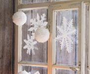 Fensterdekoration Küche