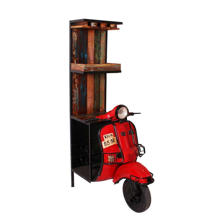 Medium Size of Shabby Design Barschrank Roller Style Aus Altholz Altmetall Pietra Stengel Miniküche Regale Ikea Mit Kühlschrank Wohnzimmer Roller Miniküche