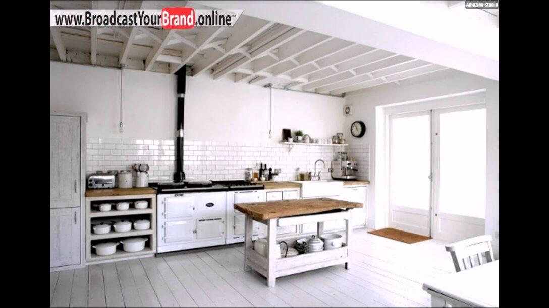 Large Size of Küche Shabby Hngeschrank Kche Chic Meuble Cuisine Youtube Modulküche Ikea Barhocker Kosten Umziehen Bodenbelag Mit E Geräten Günstig Beistellregal Wohnzimmer Küche Shabby