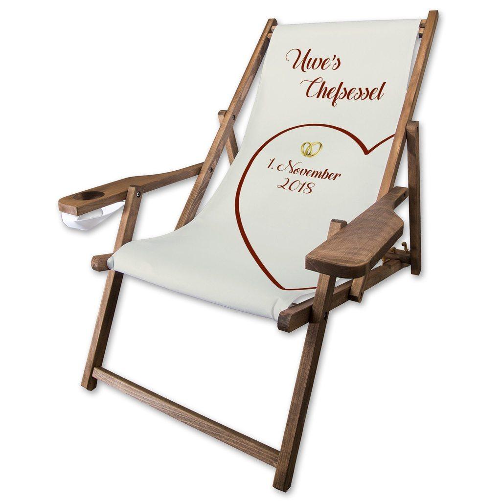 Full Size of Holz Liegestuhl Comfort Als Hochzeitsgeschenk Personalisiert Garten Wohnzimmer Liegestuhl Wetterfest
