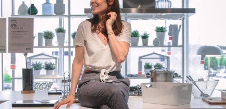 Medium Size of Kchenkauf Bei Ikea Kche In Meinem Studio Loft Betten Modulküche 160x200 Küche Kaufen Kosten Sofa Mit Schlaffunktion Miniküche Wohnzimmer Ikea Küchenzeile