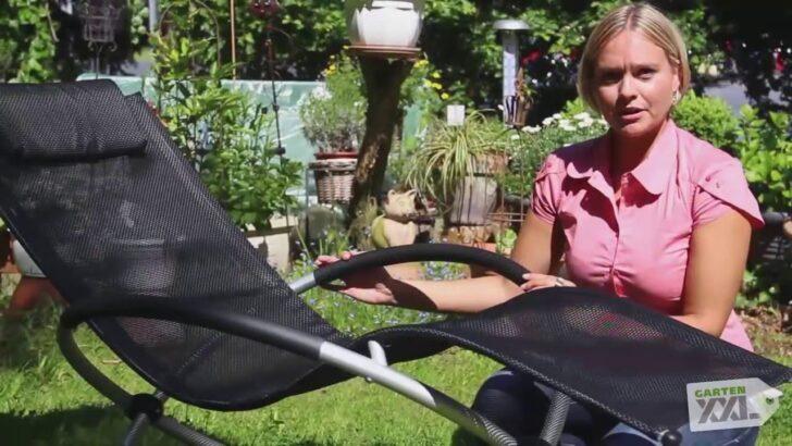 Medium Size of Schaukelliege Klappbar Schaukelstuhl Leco Gartenxxl Youtube Bett Ausklappbar Ausklappbares Wohnzimmer Schaukelliege Klappbar