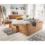 Stauraumbett 200x200 Bett Mit Bettkasten Komforthöhe Weiß Betten Stauraum Wohnzimmer Stauraumbett 200x200