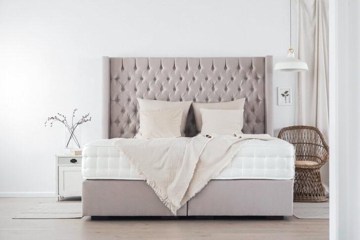 Medium Size of Boxspringbett Beige Samt 200x200 180x200 Sofa Schlafzimmer Set Mit Wohnzimmer Boxspringbett Beige Samt