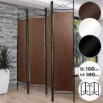 Paravent Bambus Wohnzimmer Paravent Bambus Spanische Wand Raumtrenner Trennwand 4 Teilig 180 Bett Garten