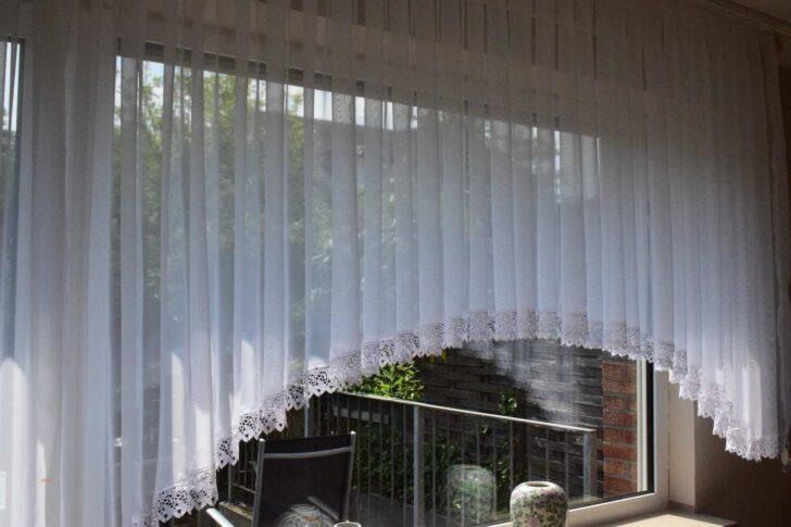 Medium Size of Wohnzimmer Gardinen Für Küche Fenster Scheibengardinen Schlafzimmer Die Bogenlampe Esstisch Wohnzimmer Bogen Gardinen