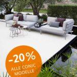 Conic Modulsofa Von Cane Line Walli Gartenmbel Online Shop Wohnzimmer Couch Terrasse
