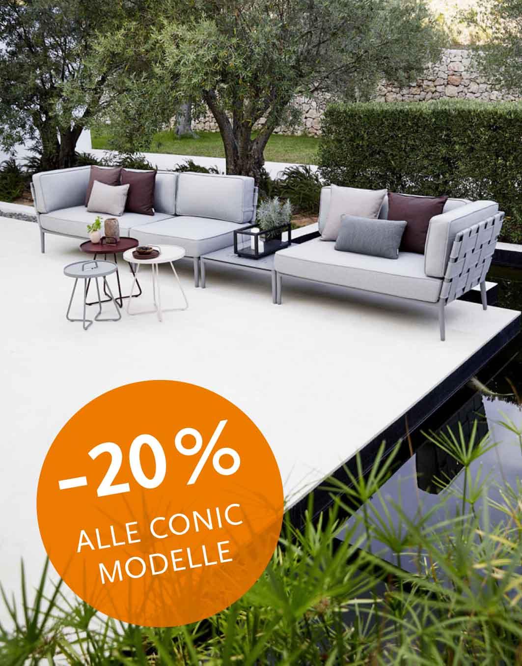 Full Size of Conic Modulsofa Von Cane Line Walli Gartenmbel Online Shop Wohnzimmer Couch Terrasse