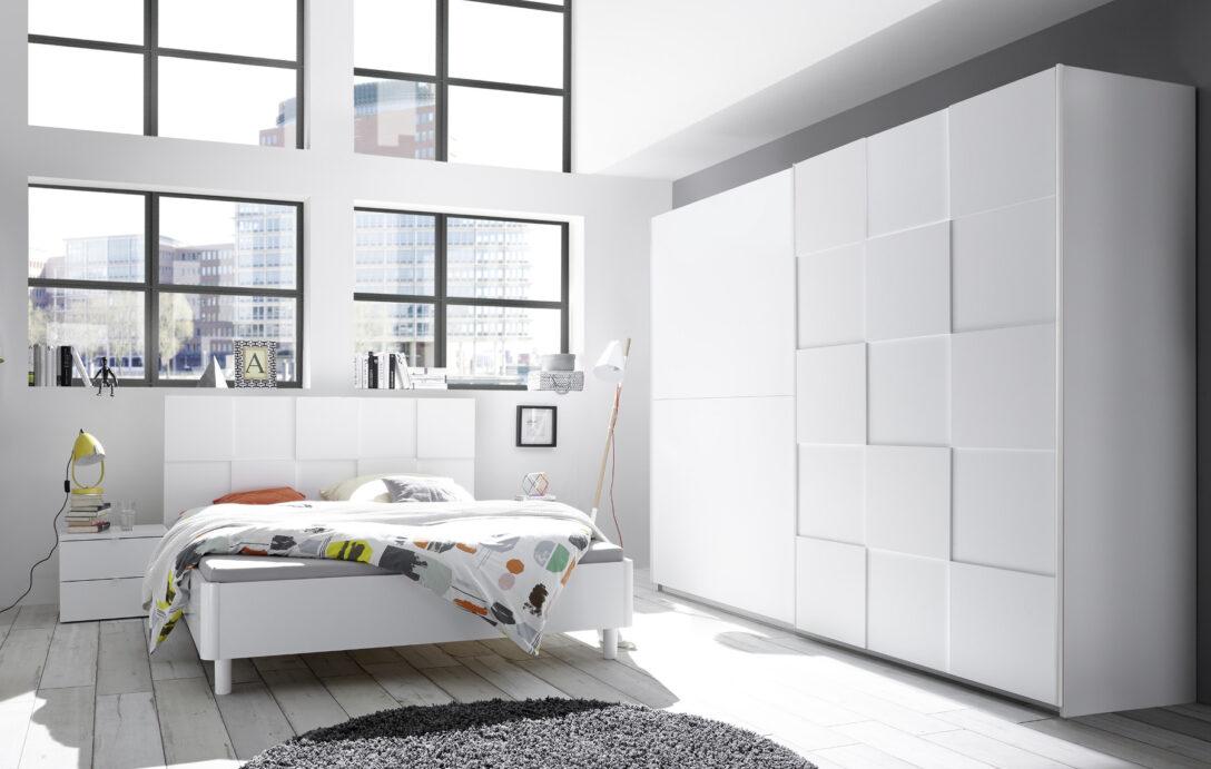 Large Size of Schlafzimmer Komplett Set Modern Weiss Massiv Luxus Schlafzimmerset Matt 3d Optik Nicato2 Designermbel Komplettes Deckenleuchte Küche Günstig Nolte Truhe Wohnzimmer Schlafzimmer Komplett Modern