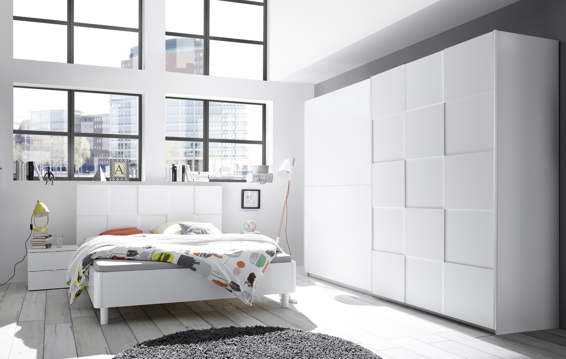 Full Size of Schlafzimmer Komplett Set Modern Weiss Massiv Luxus Schlafzimmerset Matt 3d Optik Nicato2 Designermbel Komplettes Deckenleuchte Küche Günstig Nolte Truhe Wohnzimmer Schlafzimmer Komplett Modern