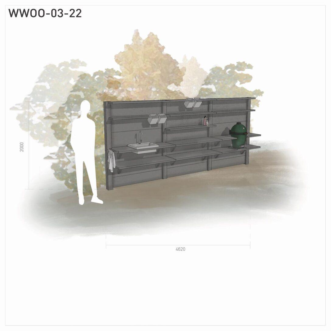 Large Size of Edelstahl Outdoor Küche Gebrauchte Verkaufen Mülltonne Mit Geräten Landhausküche Gebraucht Nischenrückwand Vorhang Unterschrank Miele Lieferzeit Wohnzimmer Edelstahl Outdoor Küche