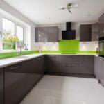 Landhausküche Grün Wohnzimmer Landhausküche Grün Regal Weisse Grünes Sofa Moderne Küche Mintgrün Gebraucht Weiß Grau