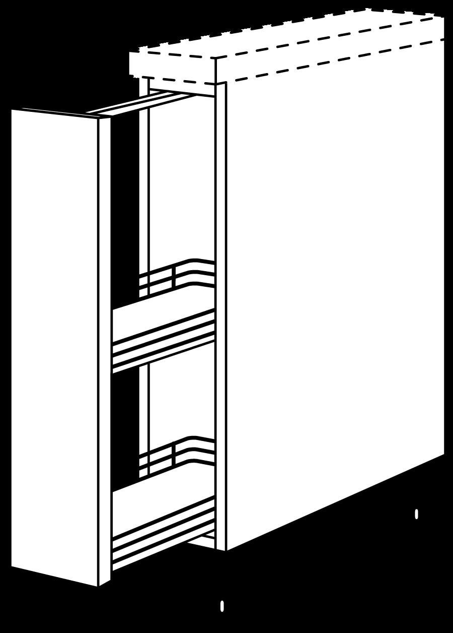 Full Size of Nobilia Auszugsschrank 1 Auszug Backblechhalter Stauraum Bett 160x200 Liegehöhe 60 Cm 180x200 Komplett Mit Lattenrost Und Matratze Schubladen Bettkasten Wohnzimmer Apothekerschrank 20 Cm Breit Nobilia