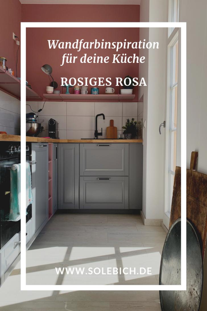 Medium Size of Wandfarbe Rosa Neue Trendwandfarbe Rosiges Hausverschnerungs Projekte Küche Wohnzimmer Wandfarbe Rosa