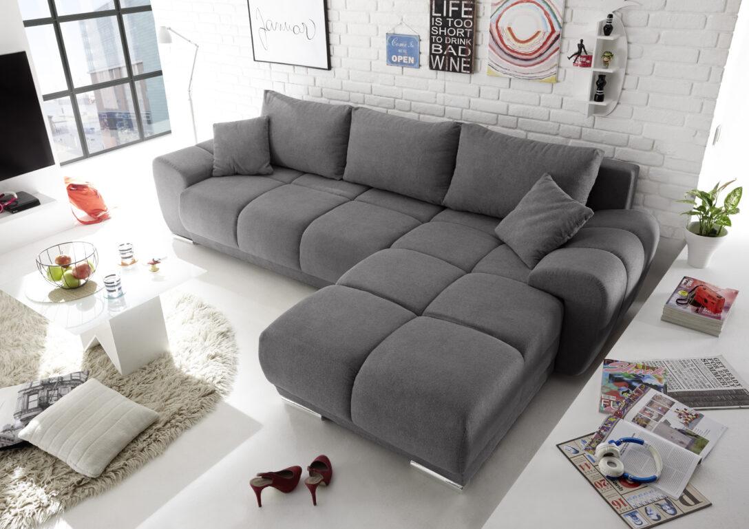Large Size of Couch Ausklappbar Ecksofa Anton Schlafcouch Bettsofa Real Ausklappbares Bett Wohnzimmer Couch Ausklappbar