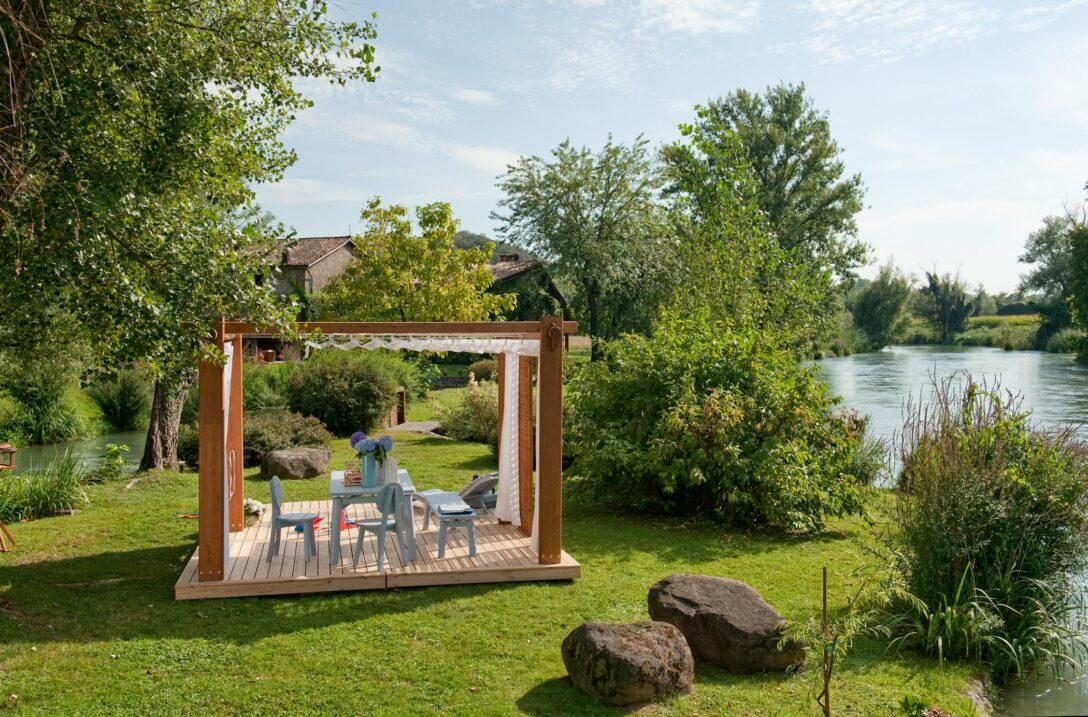 Large Size of Terrassen Pavillon Wasserdicht Terrasse Bauhaus Test Kaufen Obi Freistehend Garten Wohnzimmer Terrassen Pavillon