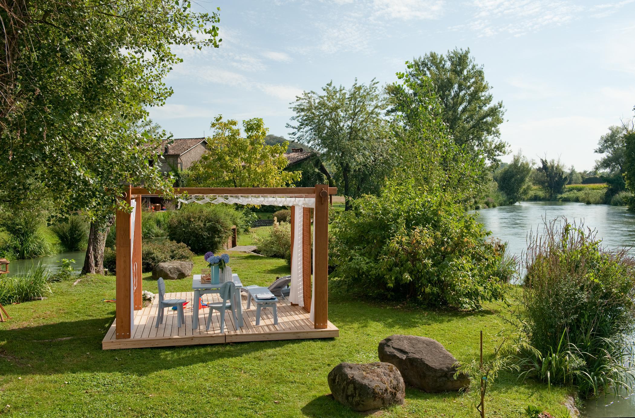 Full Size of Terrassen Pavillon Wasserdicht Terrasse Bauhaus Test Kaufen Obi Freistehend Garten Wohnzimmer Terrassen Pavillon