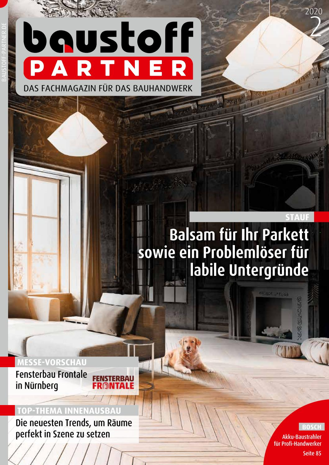 Full Size of Baustoffpartner Februar 2020 By Sbm Verlag Gmbh Drutex Fenster Test Wohnzimmer Drutex Erfahrungen Forum