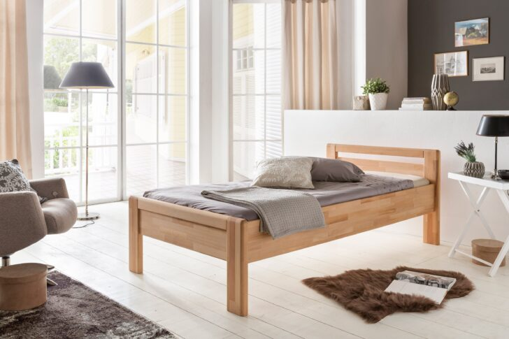 Medium Size of Seniorenbett 90x200 Woodlive Paul Kernbuche Mbel Letz Ihr Online Shop Weißes Bett Weiß Mit Lattenrost Und Matratze Bettkasten Schubladen Kiefer Betten Wohnzimmer Seniorenbett 90x200