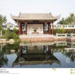 Terrassen Pavillon Wohnzimmer In Asien Garten Pavillon